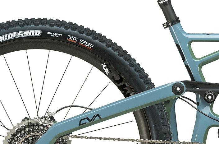 Need room to roam? We got it. The RIP 9 RDO 29er has clearance to run your choice of 2.6-inch wide tires.